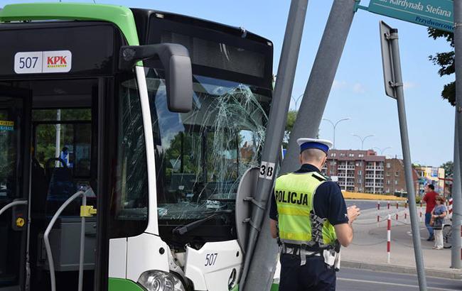 У Польщі у результаті ДТП постраждало 15 людей