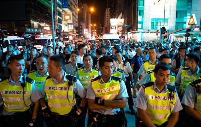 В Гонконге между демонстрантами и полицией произошли столкновения, есть задержанные