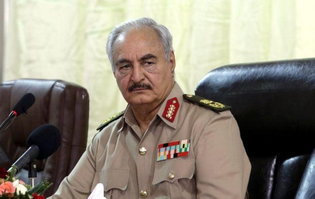 Хафтар взял два дня на обсуждение прекращения огня в Ливии