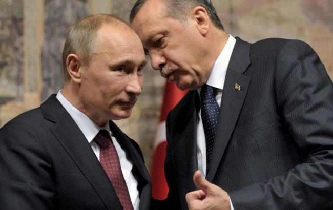 Фото: Путин хочет сотрудничать с Эрдоганом