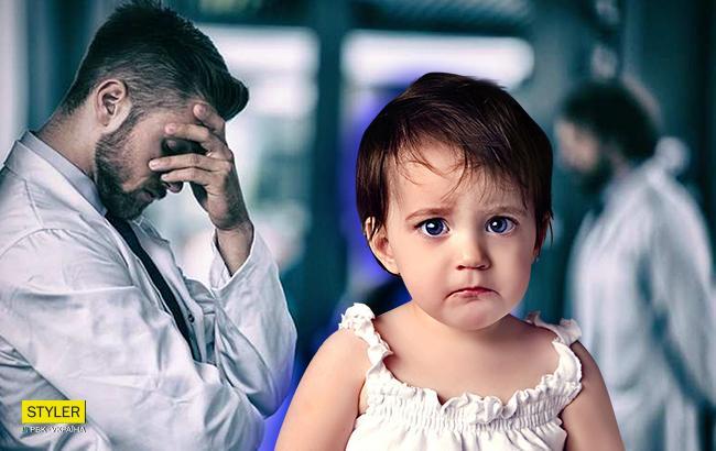Фото: Ошибка врачей или халатность родителей? (Коллаж РБК-Украина)