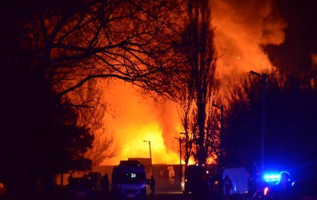 Полиция открыла дело из-за взрывов в Кропивницком