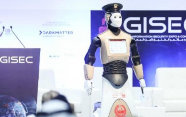 Фото: робот-полицейский