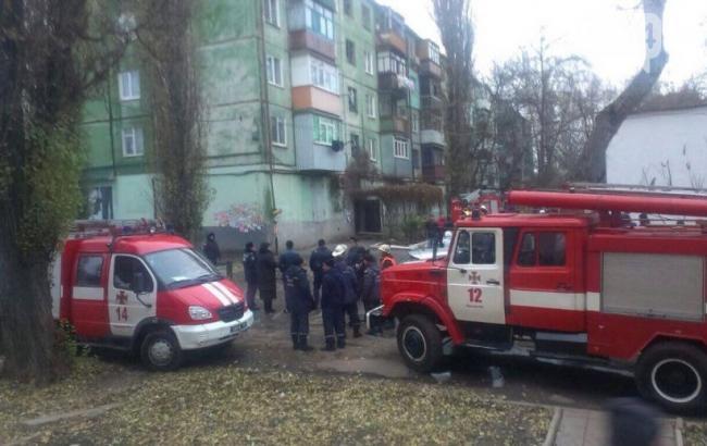 Фото: причиной взрыва в Кривом Роге может быть утечка газа