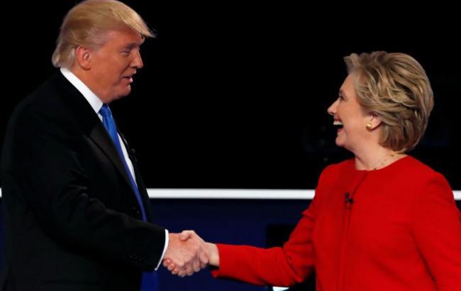 Опрос: Клинтон опережает Трампа на14%
