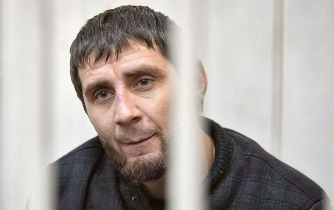Фото: обвиняемый в убийстве Немцова Заур Дадаев