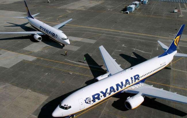 Ryanair розпочне польоти з Києва у вересні