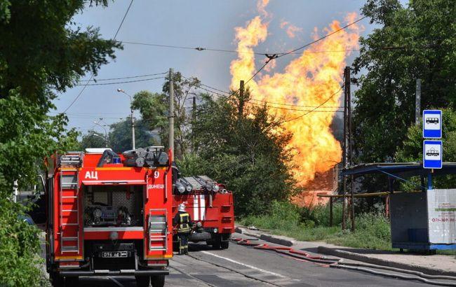 В оккупированном Донецке произошел взрыв на газопроводе