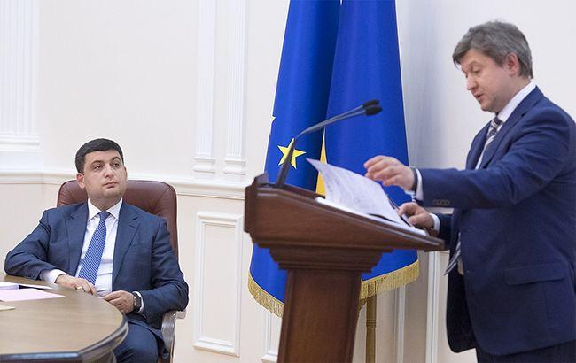 Премьер-министр Владимир Гройсман и министр финансов Александр Данилюк планируют сформировать бюджет на среднесрочную перспективу