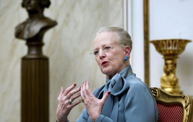Фото: королева Дании Маргрете II