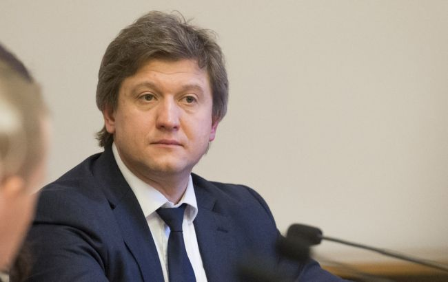Фото: министр финансов Украины Александр Данилюк