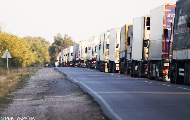 На границе с Россией образовались значительные пробки