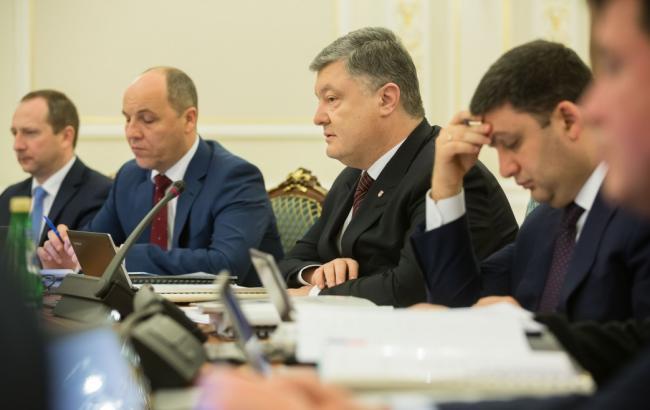 РНБО запровадила додаткові санкції проти РФ і прийняла програму розвитку армії до 2020