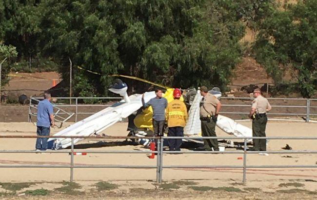 ВКалифорнии разбился одномоторный самолет, погибли два человека