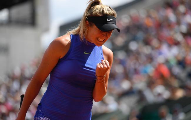 Перша ракетка України Еліна Світоліна гарантувала собі місце в топ-5  світового рейтингу Жіночої тенісної асоціації (WTA) за підсумками  Відкритого чемпіонату ... bf9e74bfea483