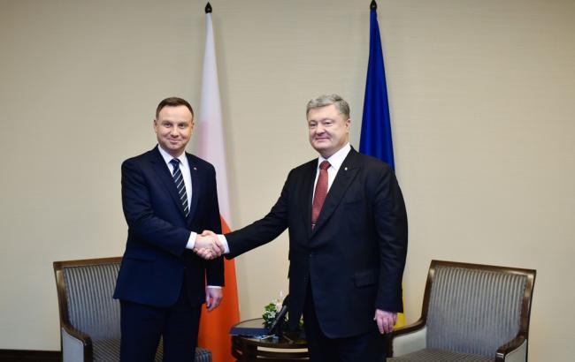Фото: Петр Порошенко и Анджей Дуда (president.gov.ua)