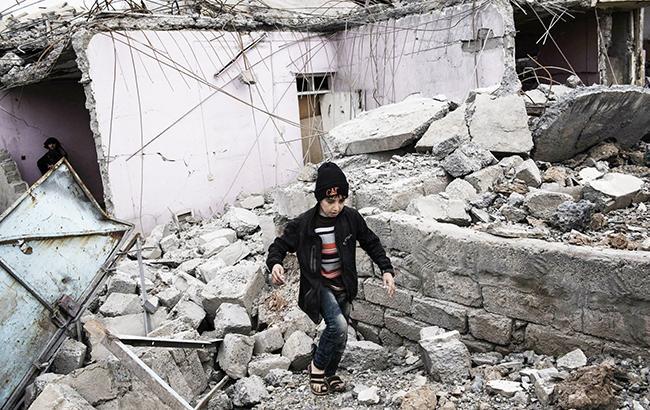 Фото: війна в Іраку (UNICEF)