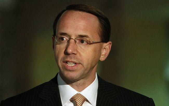Фото: кандидат на посаду заступника голови Мін'юсту США Род Розенстайн