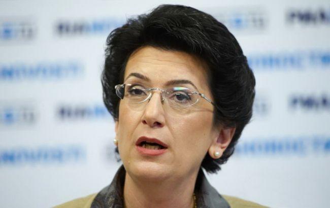 Фото: Ніно Бурджанадзе заборонили в'їзд в Україну