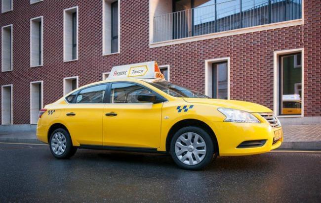 Фото: Яндекс.Таксі придивляється до України (vk.com)