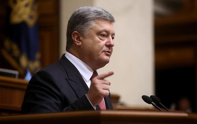 Порошенко: об'єднана українська православна церква може стати найбільшою в світі