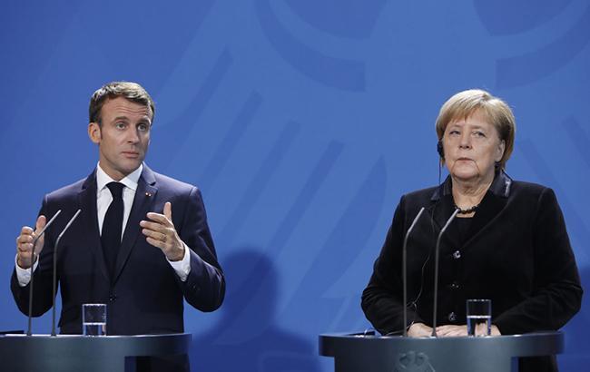Макрон та Меркель вимагають від РФ негайного звільнення українських моряків