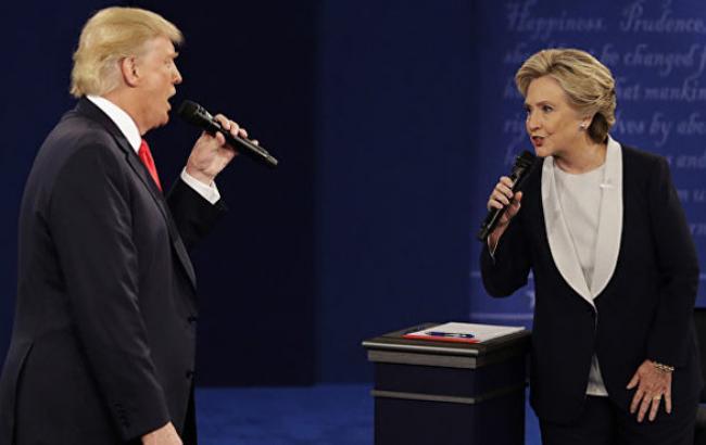 Фото: Момент дебатів (cnn.com)