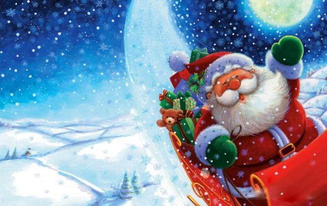 """""""Укрзалізниця"""" з 19 грудня запустить три святкових паровоза Діда Мороза"""