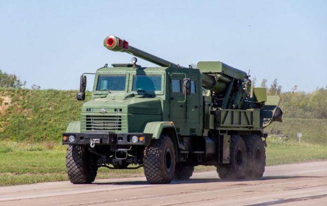 """Почалися перші випробування самохідної артилерійської установки """"Богдана"""", виконаної в калібрі НАТО"""