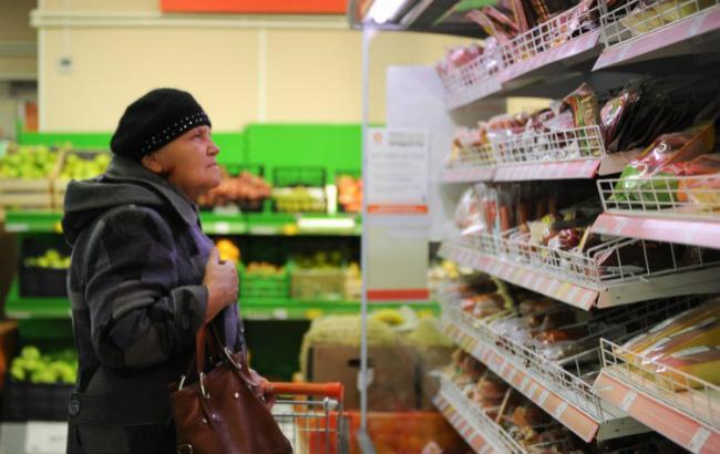 Дефляция в Украине в феврале составила 0,4%