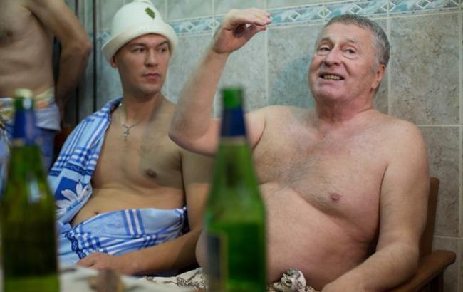 Фото: Дегтярьов з Жириновським (gazeta.ru)