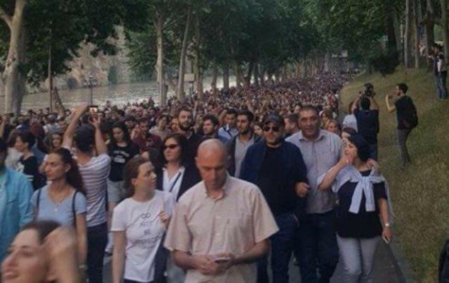 Масові протести уГрузії: мітингувальники вимагають відставку уряду