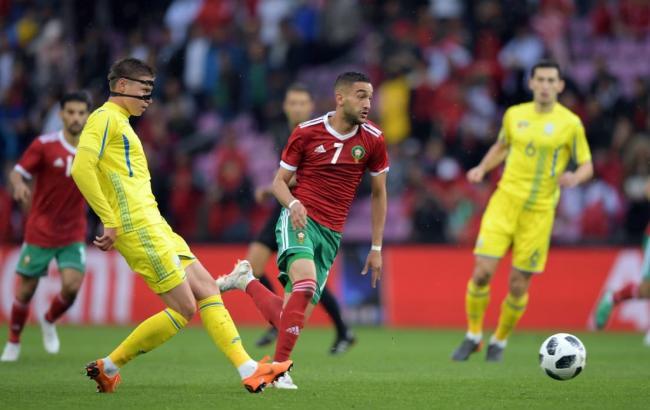 """Результат пошуку зображень за запитом """"україна-марокко футбол"""""""