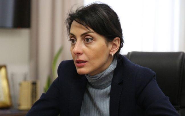 Фото: Деканоїдзе анонсувала створення поліцейської академії