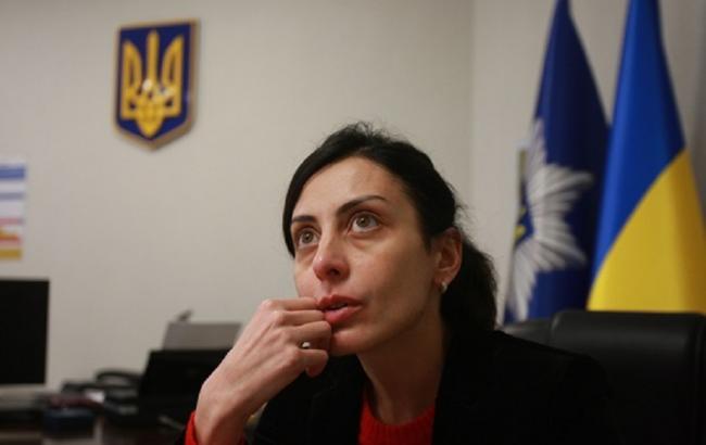Фото: опублікована е-декларація Деканоїдзе