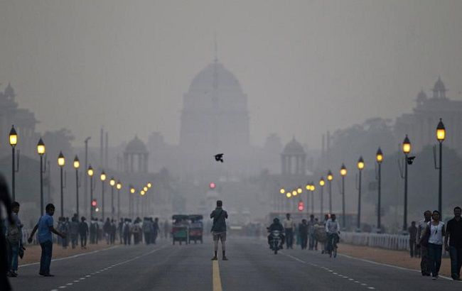 Уровень загрязнения воздуха в Киеве по ряду показателей в 2-5 раз превышает норму, - ГосЧС - Цензор.НЕТ 8378
