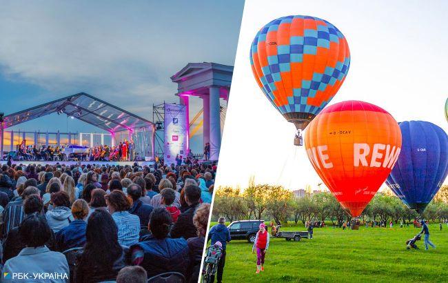Самолеты, воздушные шары и огненные шоу: чем будут удивлять гостей на День независимости в популярных городах Украины