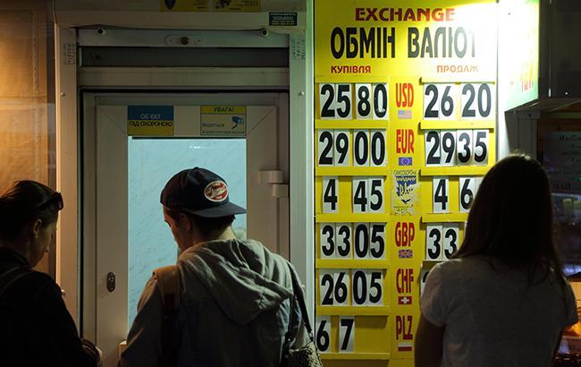 Фото: готівковий курс долара трохи виріс (РБК-Україна)