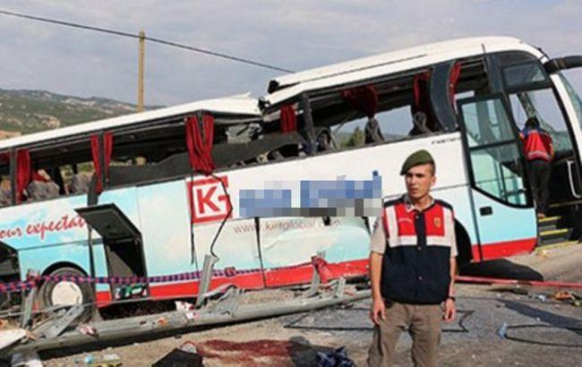 У Туреччині в ДТП потрапив автобус з українськими та російськими туристами, 4 загиблих, 38 поранені