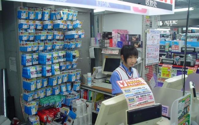 Фото: магазин в Японии