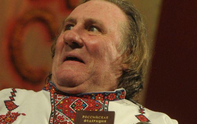 Депардье даст концерт в Донецке