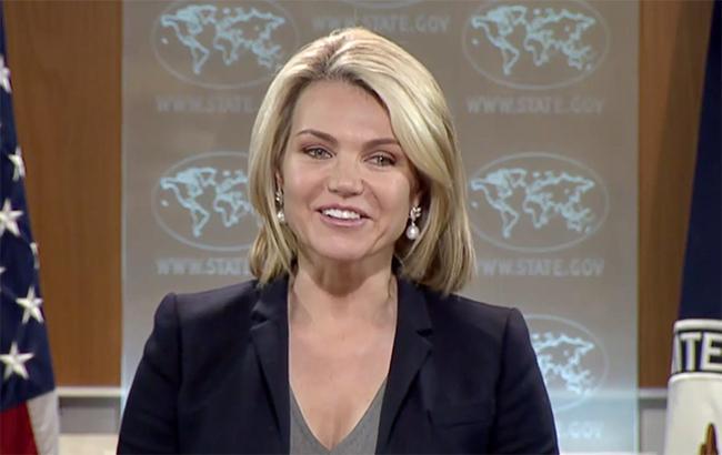 Фото: Хизер Нойэрт, официальный представитель Государственного департамента США (U.S. Department of State)