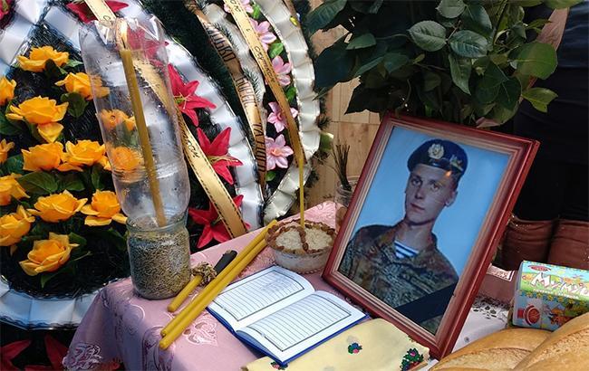 Під Житомиром попрощалися з 22-річним бійцем, який загинув в зоні АТО (фото)