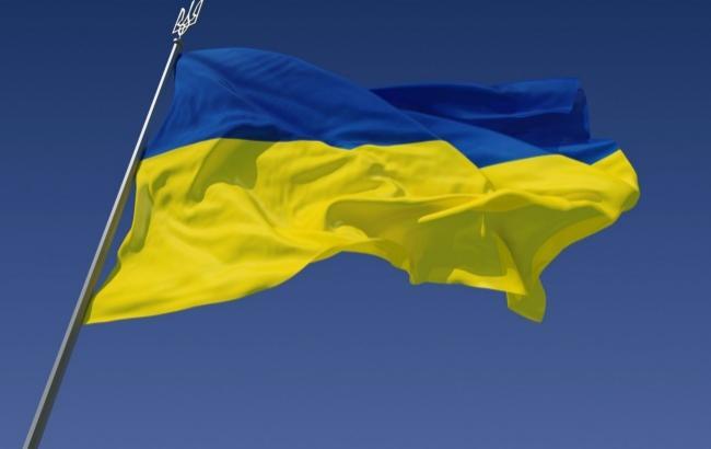 Фото: Украинский флаг (desktopwallpapers.org.ua)
