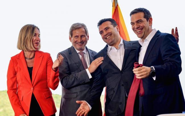 Єврорада може незабаром почати переговори про вступ Македонії в ЄС, - Могеріні