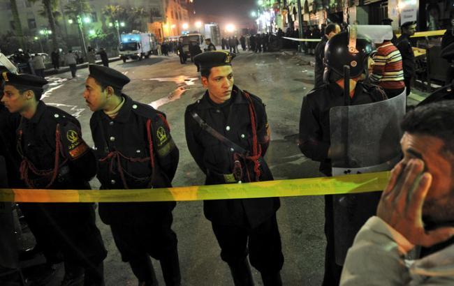 В результате взрыва в Египте погибли 6 полицейских