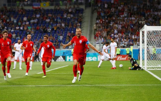 Фото: Туніс - Англія (twitter.com/England)