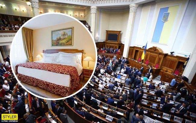 Никто не жаловался: куда поселили иногородних депутатов Верховной Рады