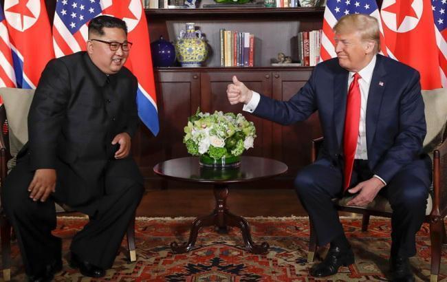 Фото: Дональд Трамп и Ким Чен Ын (facebook.com/WhiteHouse)