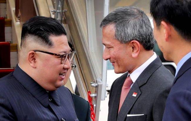 Кім Чен Ин прибув в Сінгапур на зустріч з Трампом